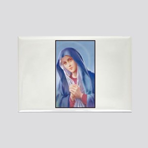 Sorrowful Mary Rectangle Magnet