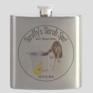 Scruffys Scrub Spot Flask