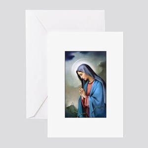 Mary Queen of Sorrows Greeting Cards (Pk of 10