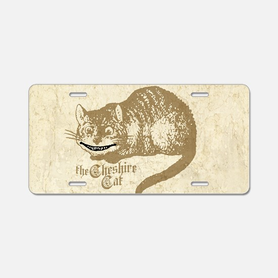 cheshire-cat_12x18 Aluminum License Plate
