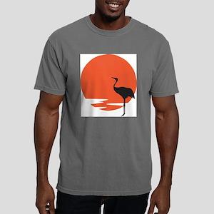 crane bird Mens Comfort Colors Shirt