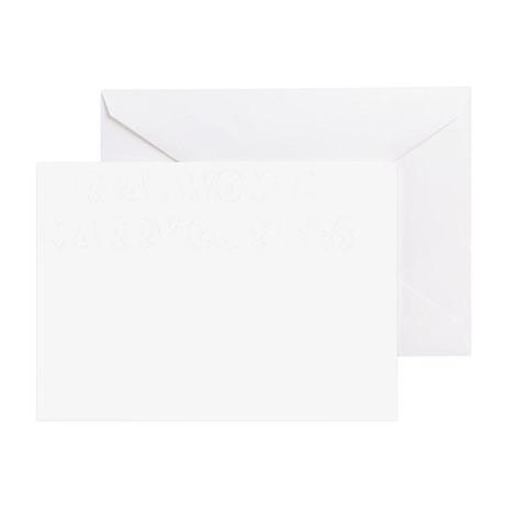 MarryBlackTee Greeting Card