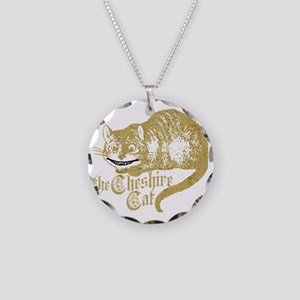 cheshire-cat_tr Necklace Circle Charm