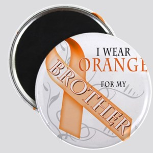 I Wear Orange for my Brother Magnet