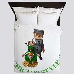 2-IRISH chicago style 2 copy Queen Duvet