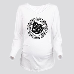PigB1 Long Sleeve Maternity T-Shirt