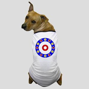 Curling Clock 8x8 Dog T-Shirt