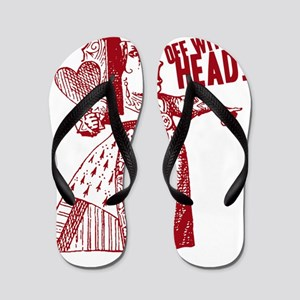 off-with-her-head-vintage_light Flip Flops