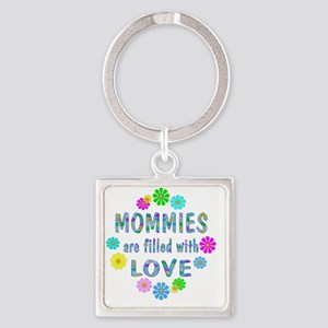LoveMommies Square Keychain