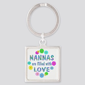 LoveNanna Square Keychain