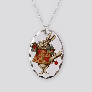 white-rabbit-vintage_tr Necklace Oval Charm