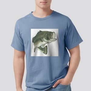 large mouth bass Mens Comfort Colors Shirt