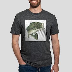 large mouth bass Mens Tri-blend T-Shirt