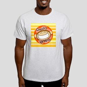 Cheeky Monkey Tile Light T-Shirt