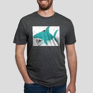 Shark Mens Tri-blend T-Shirt