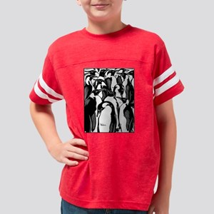 Penquins Youth Football Shirt