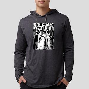 Penquins Mens Hooded Shirt