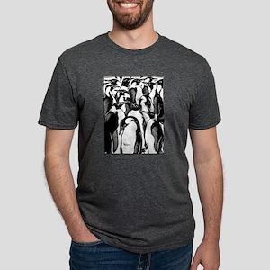 Penquins Mens Tri-blend T-Shirt