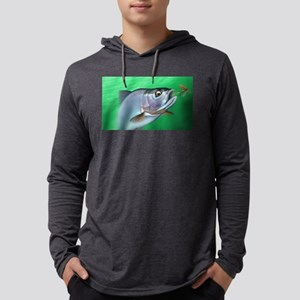 Fishing Mens Hooded Shirt