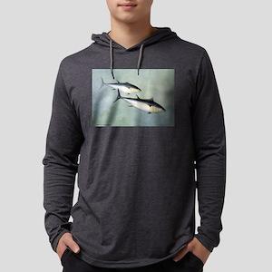 tuna fish Mens Hooded Shirt