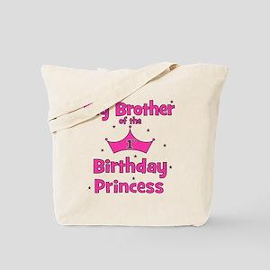 ofthebirthdayprincess_bigbrother_pink Tote Bag