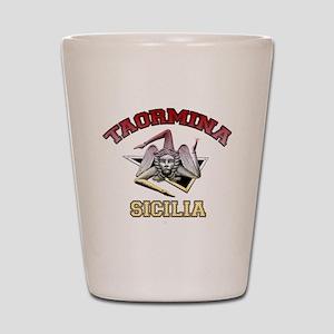 taormina_t_shirt_varsity Shot Glass