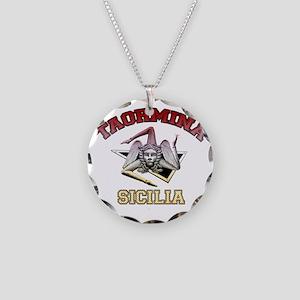 taormina_t_shirt_varsity Necklace Circle Charm