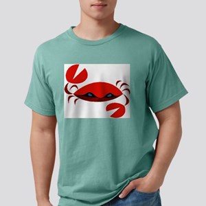 crab art Mens Comfort Colors Shirt