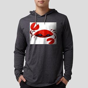 crab art Mens Hooded Shirt
