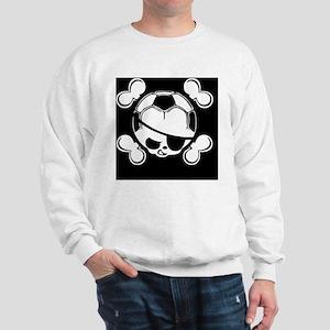 soccer-boy-skull-BUT Sweatshirt