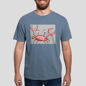 Crabby Crab Mens Comfort Colors Shirt