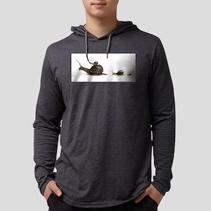 snail family Mens Hooded Shirt