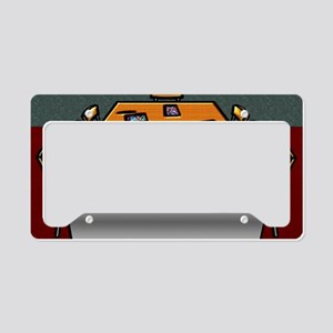3-Boardroom Table Chairs Glas License Plate Holder