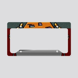 7-Boardroom Table Chairs Glas License Plate Holder
