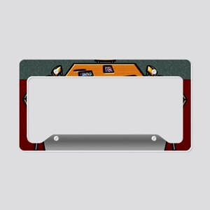 5-Boardroom Table Chairs Glas License Plate Holder