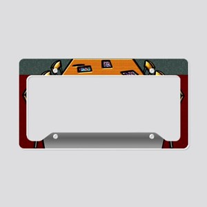 9-Boardroom Table Chairs Glas License Plate Holder