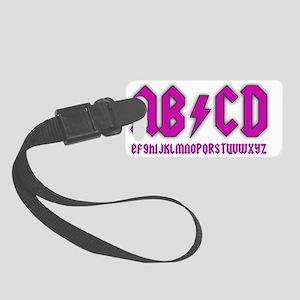 ab-cd-girl Small Luggage Tag