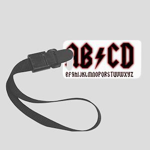 ab-cd Small Luggage Tag