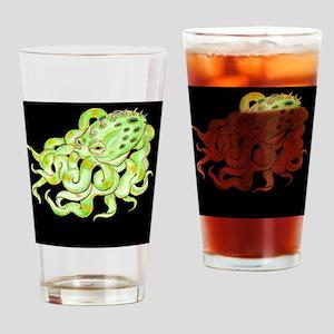 Octopus_TileKeepsake Drinking Glass