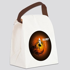 Surfspirit2 Canvas Lunch Bag