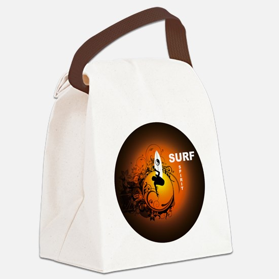 Surfspirit2 Canvas Lunch Bag
