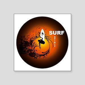 """Surfspirit2 Square Sticker 3"""" x 3"""""""