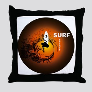 Surfspirit2 Throw Pillow