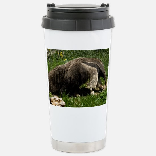 (4) Giant Anteater Stainless Steel Travel Mug