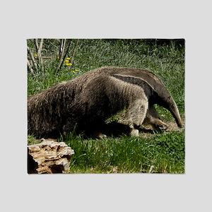 (2) Giant Anteater Throw Blanket