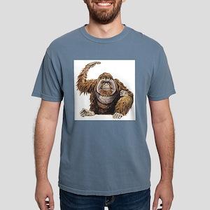 orangutan Mens Comfort Colors Shirt