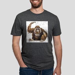 orangutan Mens Tri-blend T-Shirt