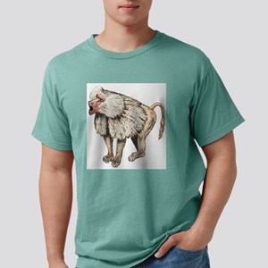 baboon Mens Comfort Colors Shirt