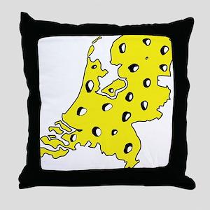 Mic2_NL_CHEESE Throw Pillow
