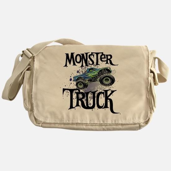 Monster_Truck_cp Messenger Bag